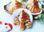 圣诞老人VS圣诞树面包