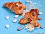 卡哇伊的寄居蟹面包