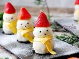 做个酸甜开胃的小雪人