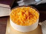 芒果慕斯奶油蛋糕