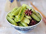 下酒菜盐水豌豆
