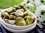 夏食葱油蚕豆