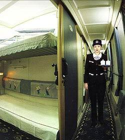 火车软卧车厢-火车软卧 男女同处的尴尬