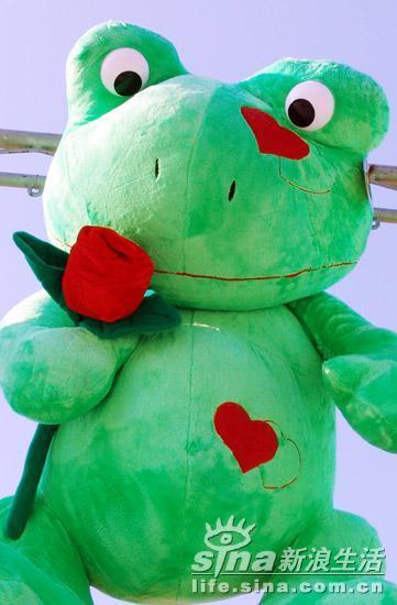 青蛙王子-嘉年华的毛绒宝宝
