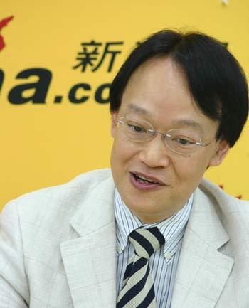 著名作家刘墉作客新浪谈人生聊天实录