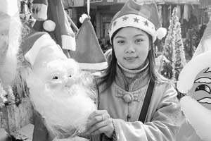 大城小市是否都爱圣诞节