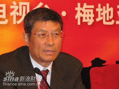 图文:中国作协全委会委员梁衡致辞