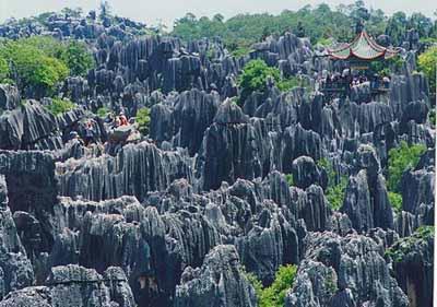 世界地质公园-昆明石林