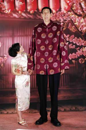 世界第一高人