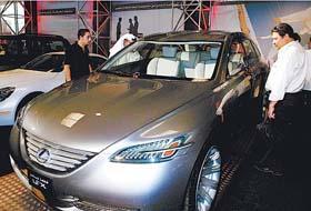科威特国际车展落下帷幕(组图)
