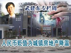 人民币贬值与中国房地产市场周期波动的基准摆控