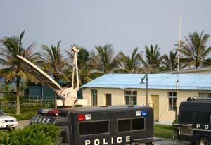 近1300名安全保卫人员进驻博鳌亚洲论坛会址