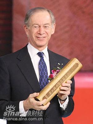 图文:2006CCTV年度人物提名奖法兰克-纽曼