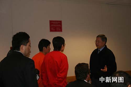 组图:高山案同案者李东哲兄弟受审