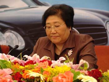 图文:北京市常务副市长翟鸿祥