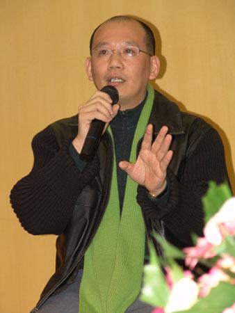图文:零点调查集团总裁袁岳