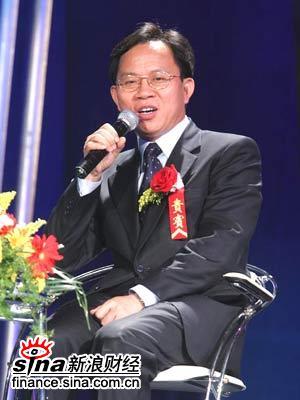图文:颁奖嘉宾国家统计局局长邱晓华