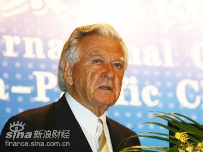 鲍勃-霍克:对中国来说最大一个问题是资源问题