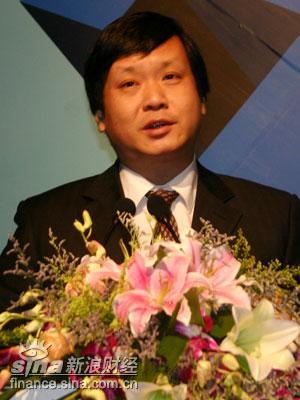 山东电视台常务副台长吕�M致辞
