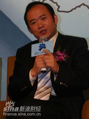 图文:中国东星集团有限公司总裁兰世立