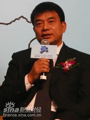 图文:新希望集团董事长刘永好
