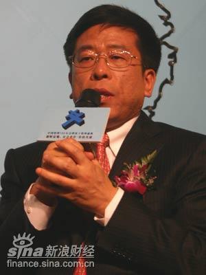 图文:中国机械工业集团公司总裁任洪斌