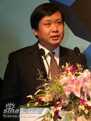 图文:山东电视台常务副台长吕�M致辞