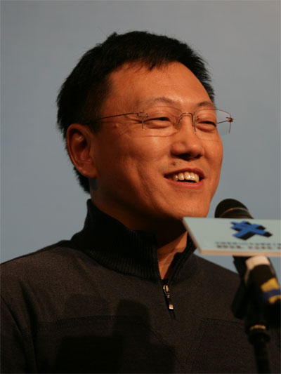 图文:神州数码有限公司总裁郭为