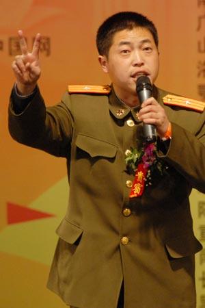 图文:钰泰杯学习型中国励志演讲比赛选手(12)