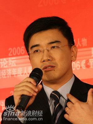 图文:央视经济半小时主持人马洪涛