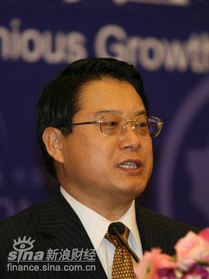 图文:中国财政部副部长李勇