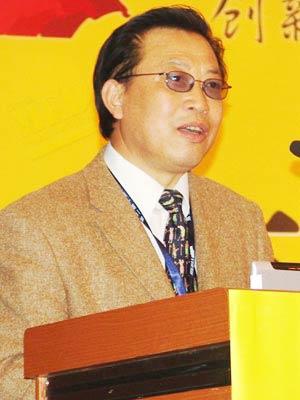 图文:中国传播学会副会长戴元光