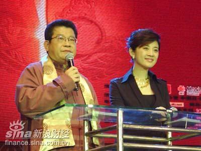 图文:凤凰卫视主持人杨锦麟许戈辉