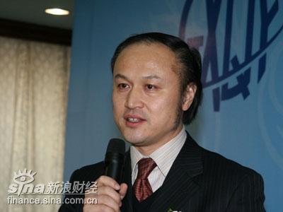 图文:北京青年报社社长北青传媒董事长张延平