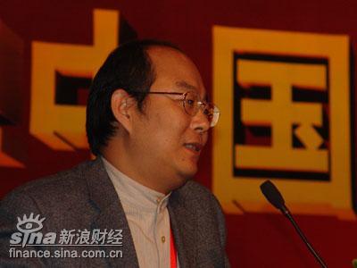 图文:中国企业家杂志社社长刘东华