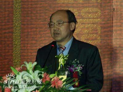 图文:年度风云人物剑南春董事长乔天明