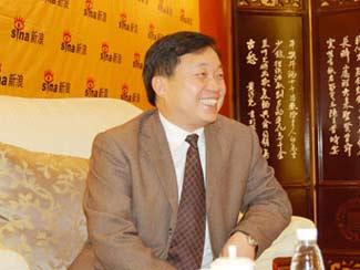 图文:会稽山绍兴酒公司董事长兼总经理傅祖康
