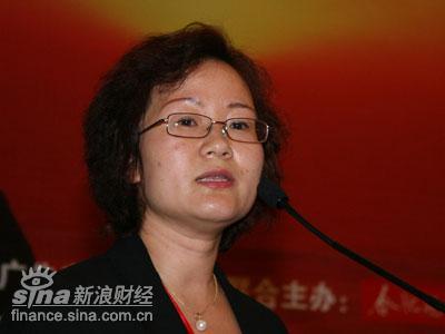 图文:健康传媒执行总裁付新华