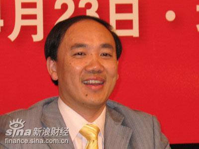图文:品牌中国产业联盟秘书长王永