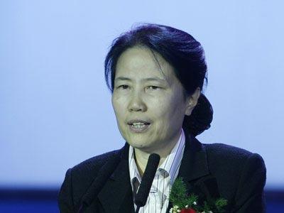 图文:招商银行副行长尹凤兰女士