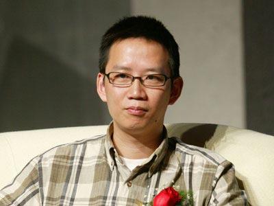 图文:著名财经作家吴晓波