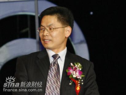 图文:欧莱雅公司总经理姚伟雄