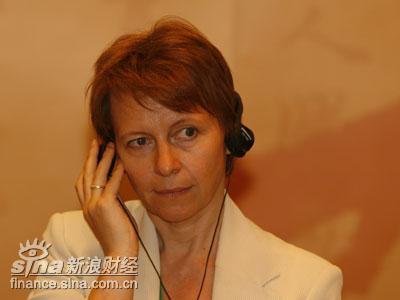 图文:独立媒体集团发行总监塔姬娅娜-莎丽基娜