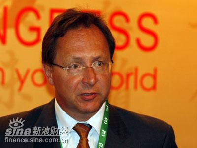 图文:德国Vogel商业媒体有限公司CEO克劳斯