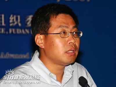 图文:中国证监会研究部主任祁斌