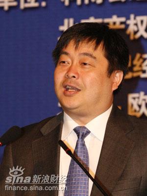 图文:欧洲证券交易所国际上市部副总经理潘康