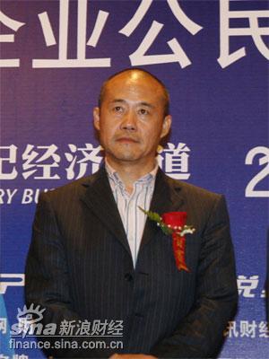 图文:万科企业股份有限公司董事长王石