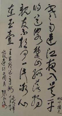 张加洛书法欣赏