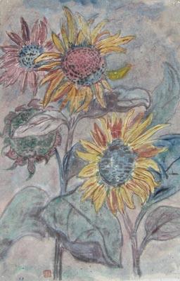 张加洛花卉画作品欣赏