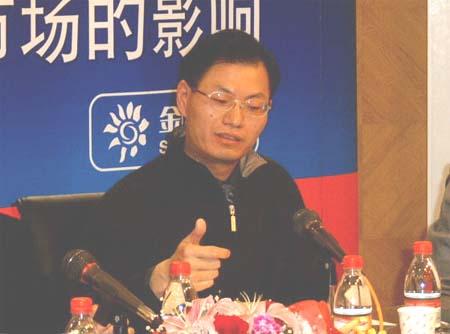 赵锡军:布什偏重通过对华投资解决贸易不平衡